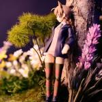 芳佳ちゃんを待つリーネちゃん figmaジオラマ画像